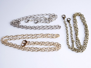 Metal Chain, Ready Made, 120cm, (ΒΑ000106)
