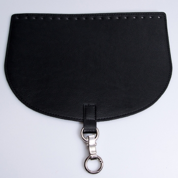 Oval Top Bag Cover with Metal Peg Lock, Elegand, 28cm. (ΒΑ000086)
