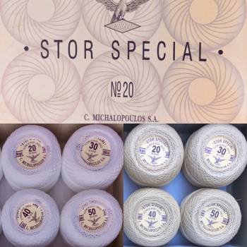 Stor Special Yarn Crochet thread size  30/2x3