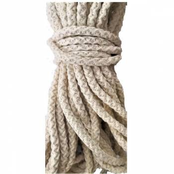 Cotton Rope Braided Cord For Bag Handles., ∅ 10mm