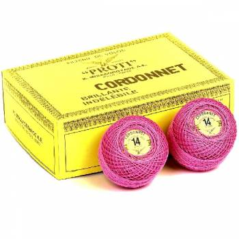 Cordonnet No14 / 2x3 100% cotton yarn.