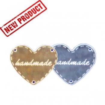 55190d1ef1f7 Ταμπελάκι Καθρέφτης Handmade Καρδιά 45mm