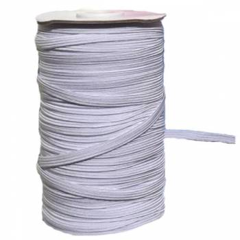 Sewing Rubber, 6mm wide, 100m packing